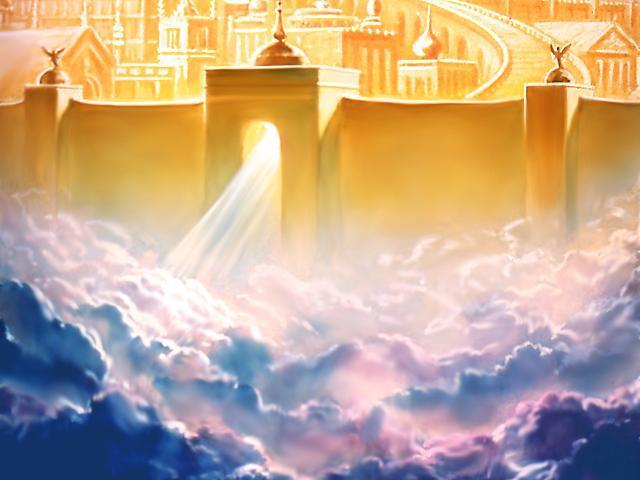 surga: tempat tinggal puncak kenikmatan dan kebahagiaan (ini bukan gambar surga beneran ya..)