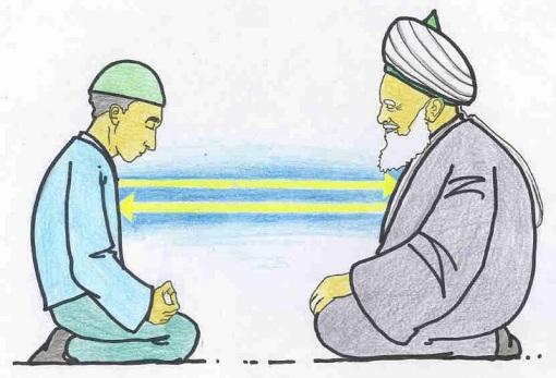 dalam menuntut ilmu, bukan pujian, harta, atau kekuasaan tujuan utama kita. melainkan ridha Allah subhanahu wa ta'ala.