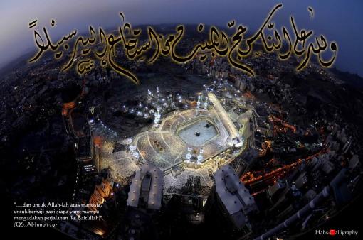 walillahi 'alannas hijjul bait