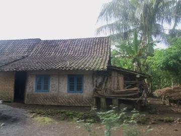 Penampakan salah satu rumah warga